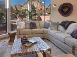 Luxurious Red Rock Vista Villa, vacation rental in Sedona