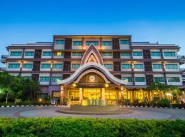 Phanomrungpuri Hotel Buriram, hotel in Nang Rong