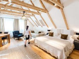 Lesar Hotel Angel - Member of Hip Hotels, hotel in Ljubljana