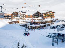 Ski- und Wanderhotel Jägeralpe, hotel in Warth am Arlberg