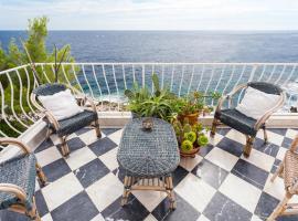Esclusivo e di charme sul mare con cameretta, apartment in Cap d'Ail