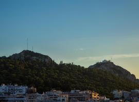 Apartment with beautiful view of Lycabettus, hotel in Athens