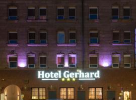 Hotel Gerhard, Hotel in der Nähe von: Meistersingerhalle, Nürnberg