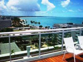 Apt em Condomínio de Luxo a Beira Mar de Maceió, accessible hotel in Maceió