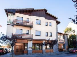 Hotel La Rambla, hotel en Biescas