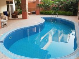 Magic Studio in New Cairo, hotel with pools in Cairo