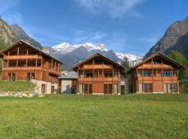 Pietre Gemelle Resort, apartament a Alagna-Valsesia