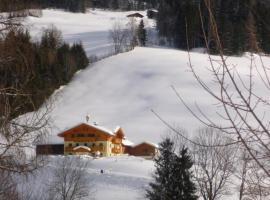 Familienbauernhof Montaning, hotel in Forstau