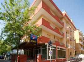 Hotel Sport, hotel a Rimini, Miramare