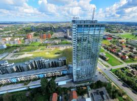 UP 34 FLOOR APARTMENTS, atostogų būstas mieste Klaipėda