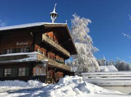 Bergpension Zinting, hotel near Kummeralmbahn, Brixen im Thale