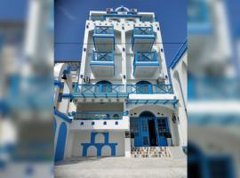 白色地中海,大漢村七星柴魚博物館附近的飯店