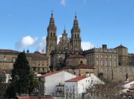 Hostal Costa Azul, hotel en Santiago de Compostela