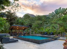 Tifakara Boutique Hotel & Birding Oasis, hotel en Fortuna