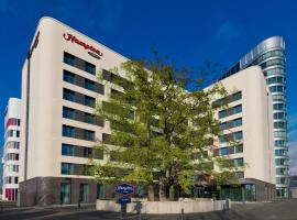 Hampton By Hilton Frankfurt Airport, three-star hotel in Frankfurt/Main