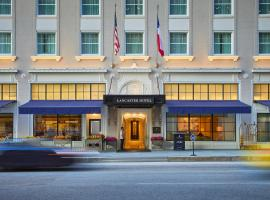 The Lancaster Hotel, Hotel in Houston