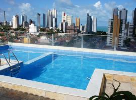 Beautiful flat Ponta Negra sem custos adicionais!