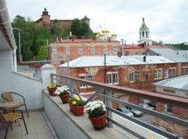 Гостиница Серебряный Ключ, отель в Нижнем Новгороде, рядом находится Нижегородский кремль