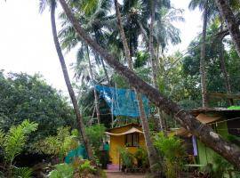 Saturn Cottages, glamping site in Agonda
