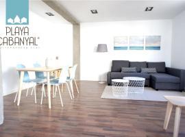 Apartamento Playa Cabanyal, hotel with jacuzzis in Valencia