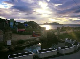 Caracola de Cabo Home, hotel cerca de Playa de Rodas, Hío