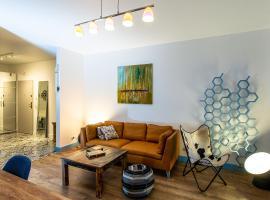 Riverside Retreat, apartment in Elblag