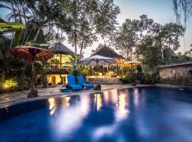Gajah Biru Bungalows, hotel in Ubud