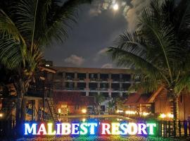 Malibest Resort, family hotel in Pantai Cenang