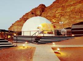 Hasan Zawaideh Camp, luxury tent in Wadi Rum
