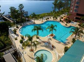 Penthouse Close to Disney area and Malls water view, apartment in Orlando
