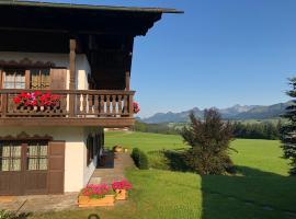 Panoramaresidenz Blindau, Ferienwohnung in Reit im Winkl