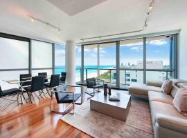 2 Bedroom Oceanview Private Residence at The Setai - 2704, pet-friendly hotel in Miami Beach