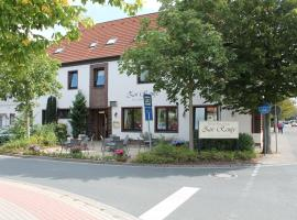 Hotel Central Zur Rampe, отель в городе Вильдесхаузен