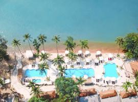 Villa Cha-Cha Krabi Beachfront Resort, hotel in Ao Nam Mao