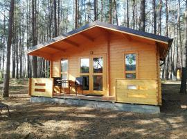Ośrodek Wypoczynkowy Nad Brdą, campsite in Tuchola
