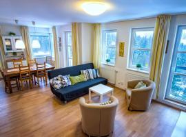 Aparthotel Klínovec Views - Mezonet Apt with Sauna K2, hotel v Loučné pod Klínovcem