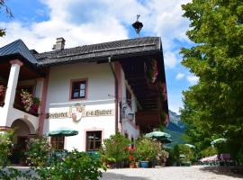 Seehotel Huber, Hotel in Sankt Gilgen