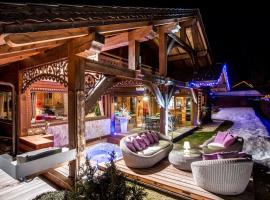 Le CHALAY, hôtel aux Carroz d'Arâches