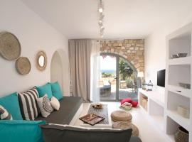 Chic designed house with 2 bedrooms in Paros, hotel in Drios