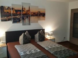 Ferienwohnung Dresden-Neustadt mit Parkplatz, apartment in Dresden