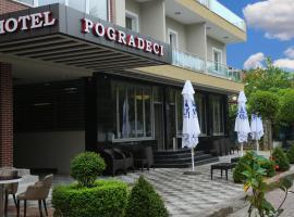 Hotel Pogradeci, отель в городе Поградец