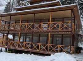 Туристическая база Лесная Империя, отель в Архызе