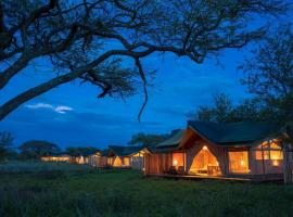 Asanja Africa, luxury tent in Serengeti National Park