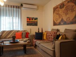 Georgina's cozy apartment, hotel near Karaiskaki Stadium, Piraeus
