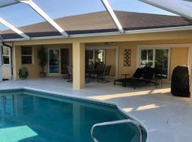 Villa Bella, Ferienunterkunft in Cape Coral