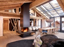 Firefly Luxury Suites, hotel near Dufour Peak, Zermatt