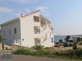 Apartments Mimi, hotel blizu znamenitosti plaža Zrće, Novalja