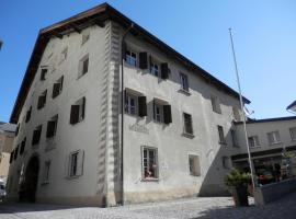 Palazzo Mysanus Samedan, hotel in Samedan