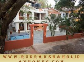Rudraksha Holiday Homes, hotel near Reis Magos Fort, Candolim