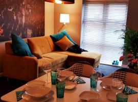 Brand New Chic & Luxury Flat near NEC/Airport/Resorts World/Business Park, budget hotel in Birmingham